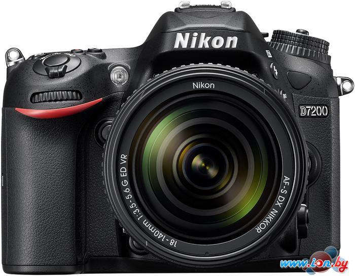 Фотоаппарат Nikon D7200 Kit 18-140mm VR в Могилёве