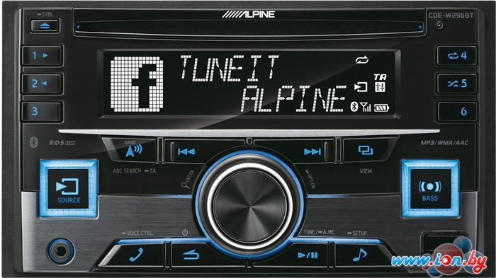 CD/MP3-магнитола Alpine CDE-W296BT в Могилёве