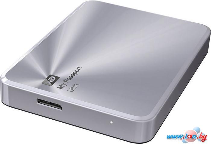 Внешний жесткий диск WD My Passport Ultra Metal Silver 2TB (WDBEZW0020BSL) в Могилёве