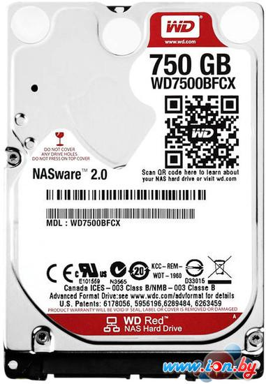 Жесткий диск WD Red 750GB (WD7500BFCX) в Могилёве