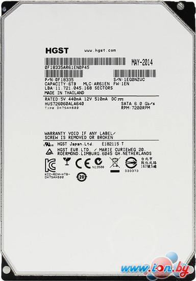 Жесткий диск Hitachi Ultrastar He6 6TB (HUS726060ALA640) в Могилёве