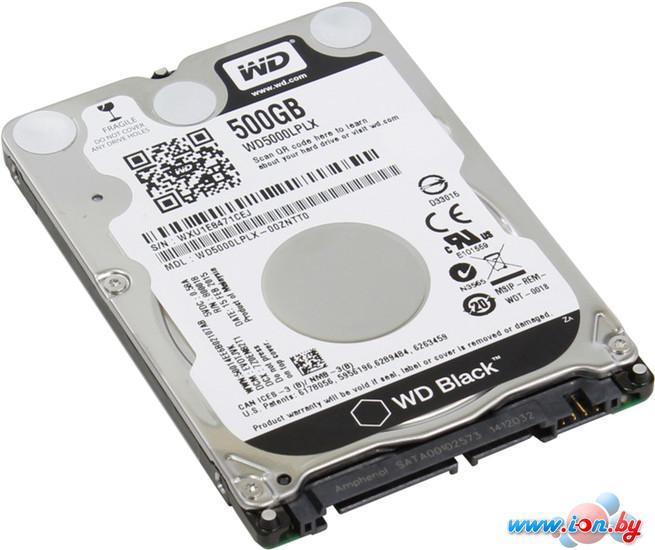 Жесткий диск WD Black 500GB WD5000LPLX в Могилёве