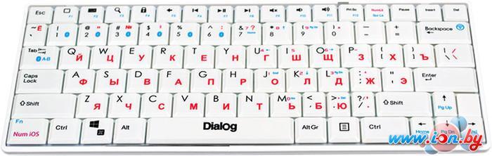 Клавиатура Dialog KP-210BT White в Могилёве