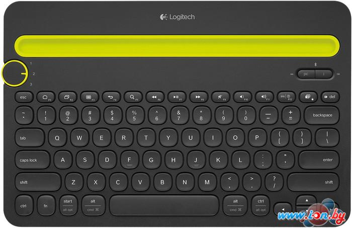 Клавиатура Logitech Bluetooth Multi-Device Keyboard K480 Black (920-006368) в Могилёве