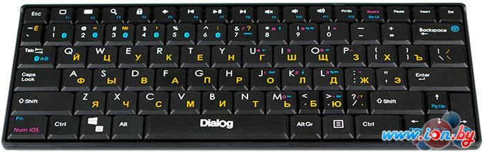 Клавиатура Dialog KP-210BT Black в Могилёве
