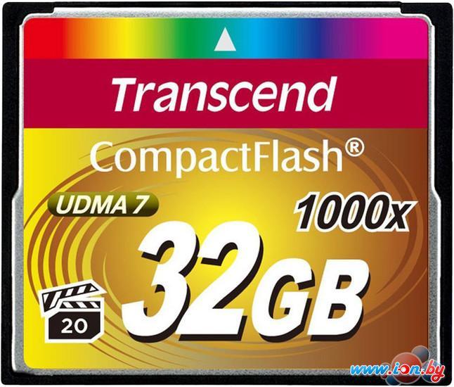 Карта памяти Transcend 1000x CompactFlash Ultimate 32GB (TS32GCF1000) в Могилёве