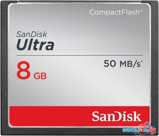 Карта памяти SanDisk Ultra CompactFlash 8GB (SDCFHS-008G-G46) в Могилёве