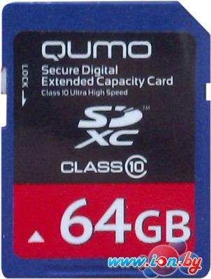 Карта памяти QUMO SDXC (Class 10) 64GB (QM64GSDXCcl10) в Могилёве
