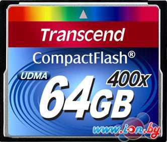 Карта памяти Transcend 400x CompactFlash 64 Гб (TS64GCF400) в Могилёве