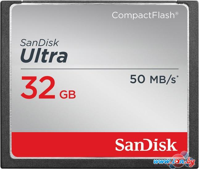 Карта памяти SanDisk Ultra CompactFlash 32GB (SDCFHS-032G-G46) в Могилёве