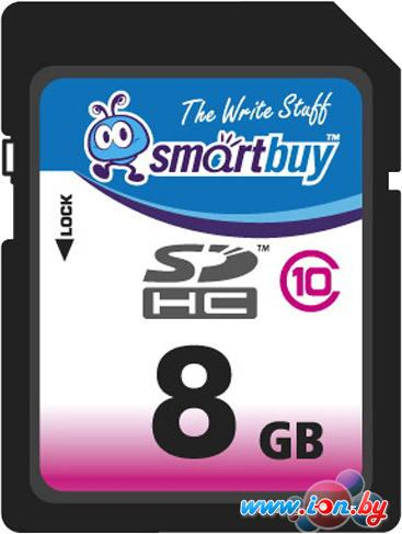 Карта памяти Smart Buy SDHC (Class 10) 8GB (SB8GBSDHCCL10) в Могилёве