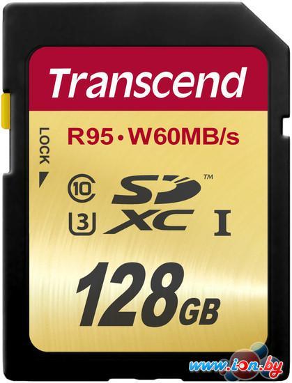 Карта памяти Transcend SDXC UHS-I U3 Class 10 128GB (TS128GSDU3) в Могилёве
