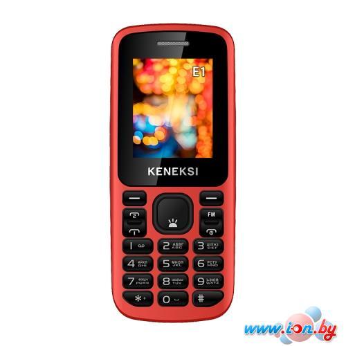 Мобильный телефон Keneksi E1 Black в Могилёве