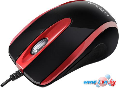 Мышь CrownMicro CMM-014 Black/Red в Могилёве