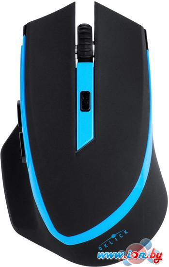 Мышь Oklick 630LW Wireless Optical Mouse Black/Blue (923003) в Могилёве
