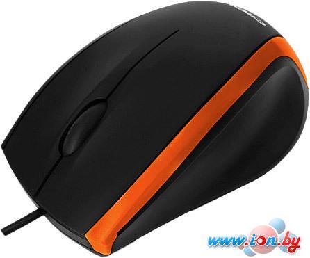 Мышь CrownMicro CMM-009 Orange&Black в Могилёве