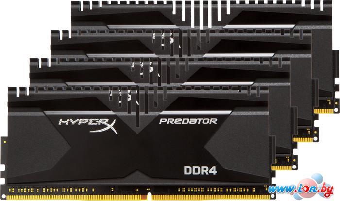 Оперативная память Kingston HyperX Predator 4x4GB KIT DDR4 PC4-22400 (HX428C14PB2K4/16) в Могилёве