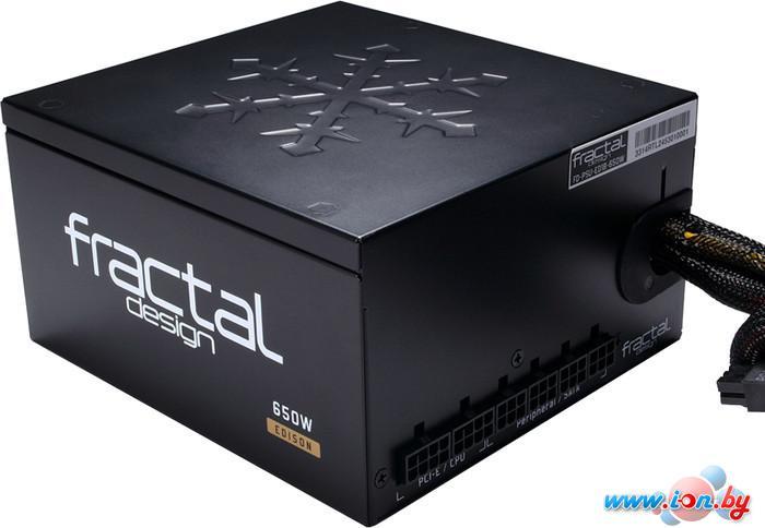 Блок питания Fractal Design Edison M 650W (FD-PSU-ED1B-650W) в Могилёве