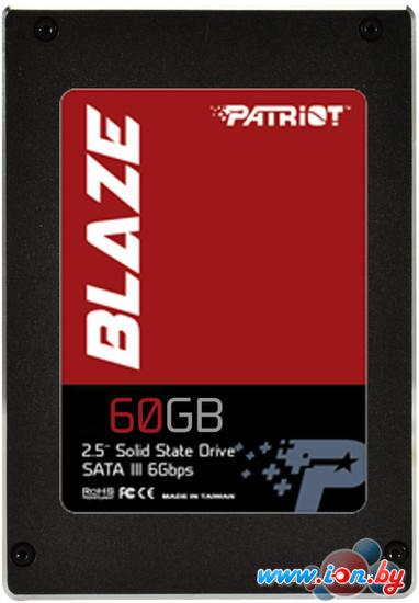 SSD Patriot Blaze 60GB (PB60GS25SSDR) в Могилёве