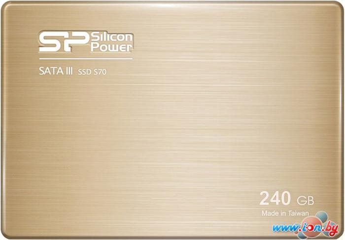 SSD Silicon-Power Slim S70 240GB (SP240GBSS3S70S25) в Могилёве