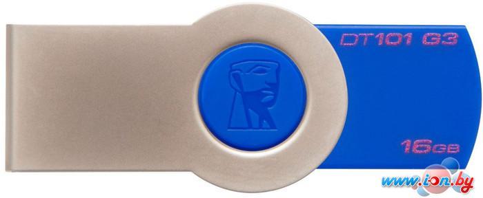 USB Flash Kingston DataTravaler 101 16GB Blue (DT101G3/16GB) в Могилёве