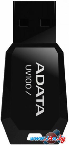 USB Flash A-Data DashDrive UV100 4Gb (AUV100-4G-RBK) в Могилёве