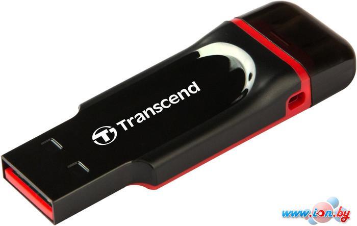 USB Flash Transcend JetFlash 340 Black-Red 64GB (TS64GJF340) в Могилёве