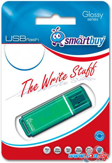 USB Flash Smart Buy Glossy Green 32GB (SB32GBGS-G) в Могилёве