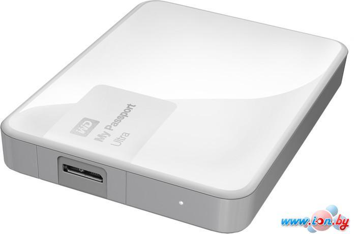Внешний жесткий диск WD My Passport Ultra 3TB Brilliant White (WDBNFV0030BWT) в Могилёве