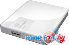Внешний жесткий диск WD My Passport Ultra 1TB White (WDBDDE0010BWT) в Могилёве