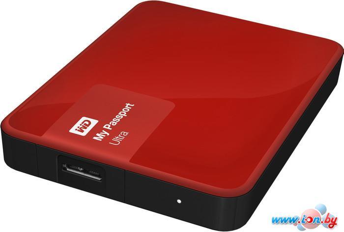 Внешний жесткий диск WD My Passport Ultra 3TB Festive Red (WDBNFV0030BBY) в Могилёве