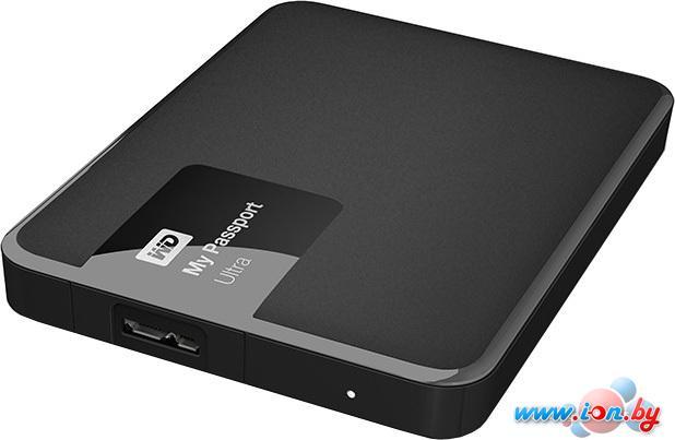Внешний жесткий диск WD My Passport Ultra 1TB Black (WDBDDE0010BBK) в Могилёве