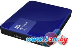Внешний жесткий диск WD My Passport Ultra 1TB Blue (WDBDDE0010BBL) в Могилёве
