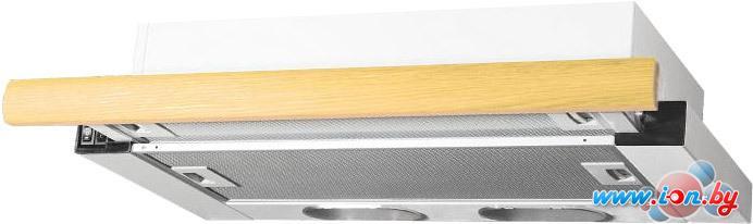 Кухонная вытяжка Elikor Интегра 60П-400-В2Л (белый/дуб) в Могилёве