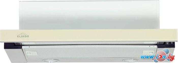 Кухонная вытяжка Elikor Интегра Glass 60Н-400-В2Г (нержавеющая сталь/бежевый) в Могилёве