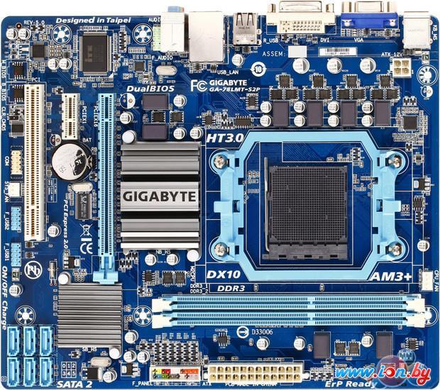 Материнская плата Gigabyte GA-78LMT-S2P (rev. 5.0) в Могилёве