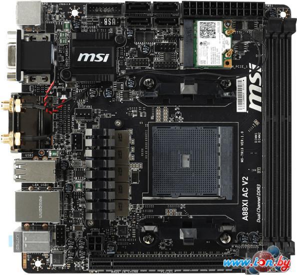 Материнская плата MSI A88XI AC V2 в Могилёве