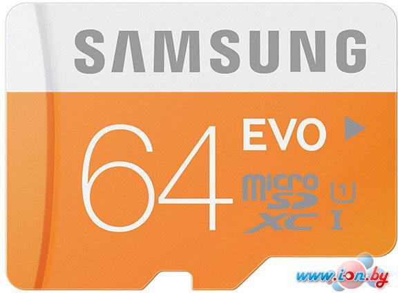 Карта памяти Samsung MicroSDXC 64GB Evo Memory (MB-MP64DA/AM) в Могилёве