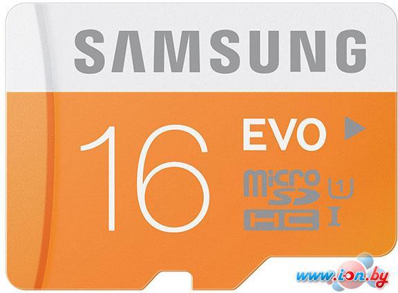 Карта памяти Samsung MicroSDHC 16GB Evo Memory (MB-MP16DA/AM) в Могилёве