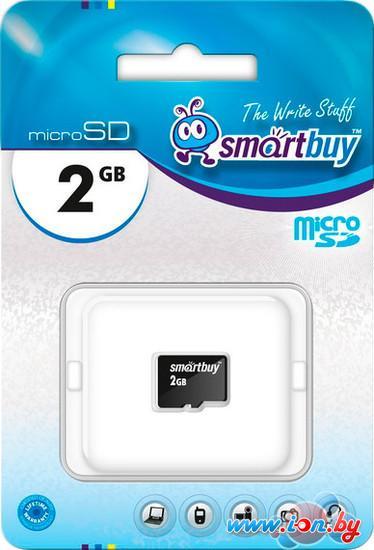 Карта памяти Smart Buy microSD 2 Гб (SB2GBSD-00) в Могилёве