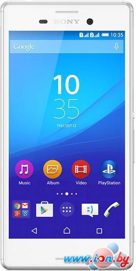 Смартфон Sony Xperia M4 Aqua dual 16GB White в Могилёве