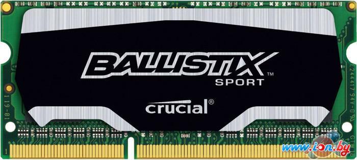 Оперативная память Crucial Ballistix Sport 4GB DDR3 SO-DIMM PC3-12800 (BLS4G3N169ES4CEU) в Могилёве