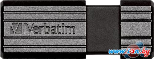USB Flash Verbatim PinStripe черный 32 Гб (49064) в Могилёве