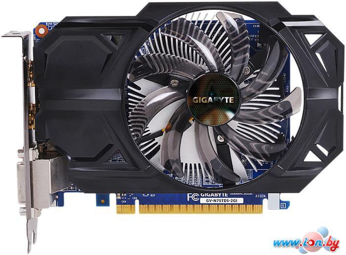 Видеокарта Gigabyte GeForce GTX 750 Ti 2GB GDDR5 (GV-N75TD5-2GI) в Могилёве