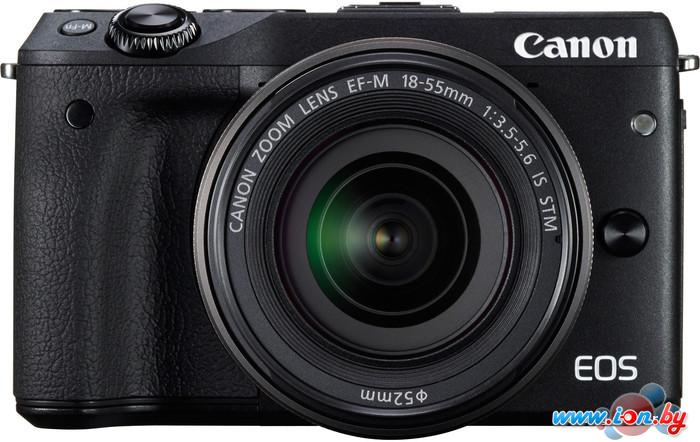 Фотоаппарат Canon EOS M3 Kit 18-55mm IS STM в Могилёве