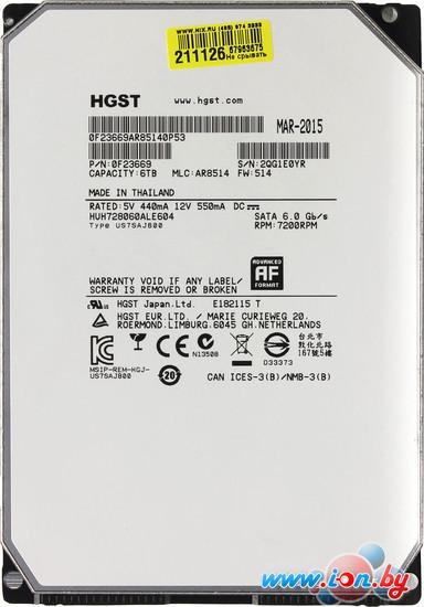 Жесткий диск Hitachi Ultrastar He8 6TB (HUH728060ALE604) в Могилёве