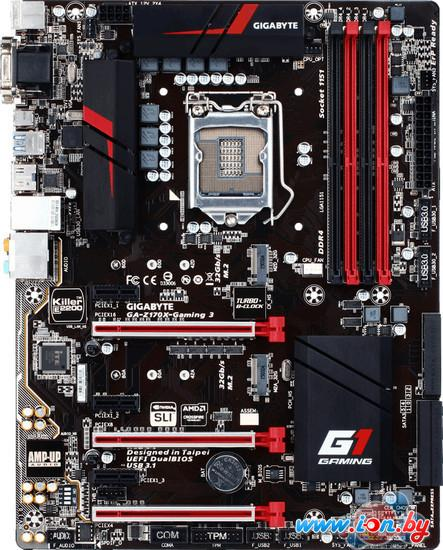 Материнская плата Gigabyte GA-Z170X-Gaming 3 (rev. 1.0) в Могилёве