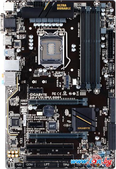 Материнская плата Gigabyte GA-Z170-HD3 DDR3 (rev. 1.0) в Могилёве