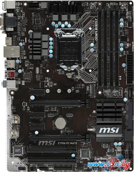 Материнская плата MSI Z170A PC MATE в Могилёве