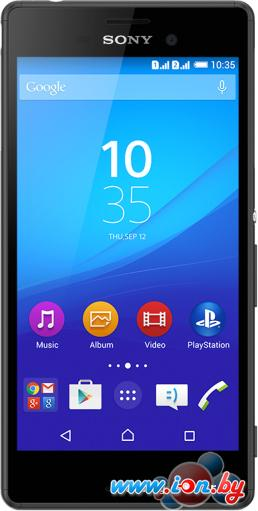 Смартфон Sony Xperia M4 Aqua dual (8GB) (E2312) Black в Могилёве